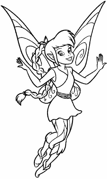 Desenhos Para Colorir E Imprimir Da Tinker Bell