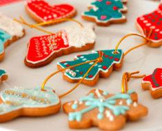 Receita de biscoito de Natal para fazer com crianças