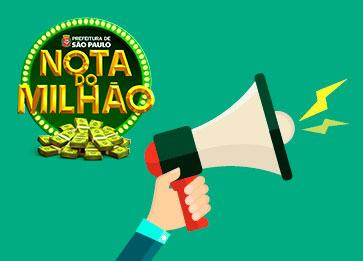 Como participar dos sorteios da Nota do Milhão
