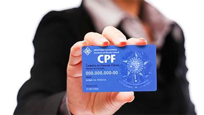Todo cidadão brasileiro precisa ter um CPF