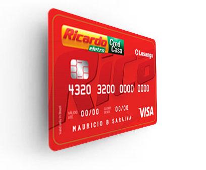 Como fazer o cartão das lojas Ricardo Eletro Visa