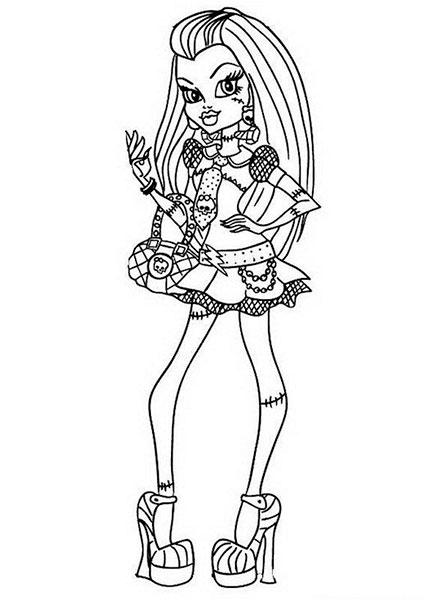 Desenhos Para Colorir E Imprimir Das Monster High