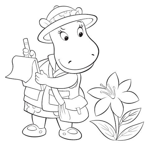 Desenhos para Pintar e Imprimir dos Backyardigans - 3