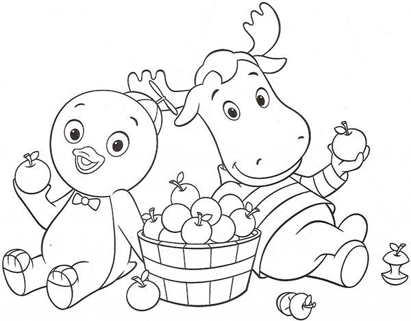 Desenhos para Pintar e Imprimir dos Backyardigans - 12