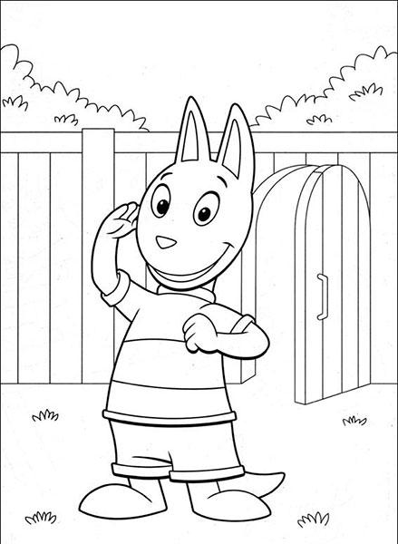 Desenhos para Pintar e Imprimir dos Backyardigans - 14