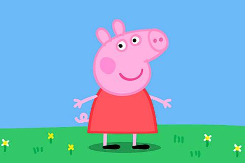 Desenhos para pintar e imprimir da Peppa Pig